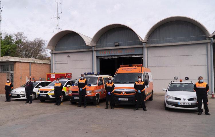 Así es un día de trabajo para los voluntarios de Protección Civil en Utrera (VÍDEO)