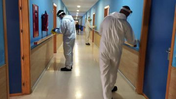 La Junta de Andalucía notifica el primer fallecido por COVID-19 en el geriátrico de La Mulata