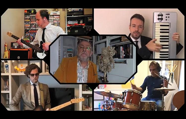 Pepe Florido y su grupo lanzan una versión «casera» del clásico «Rezaré» de Silvio (VÍDEO)