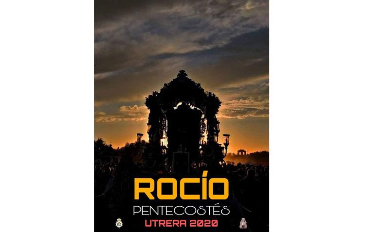 La hermandad del Rocío de Utrera presenta su cartel anunciador de Pentecostés