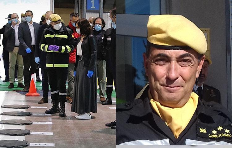 Un héroe utrerano, en la zona cero de la pandemia