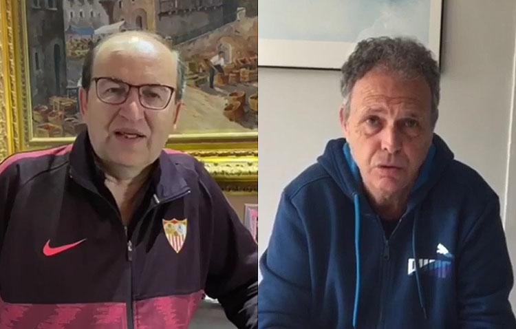 Pepe Castro y Joaquín Caparrós se unen a la campaña solidaria «Hoy por ti, mañana por mí» (VÍDEO)