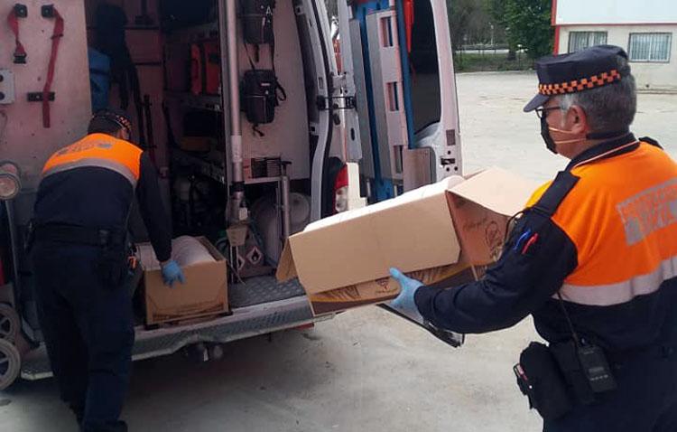 Protección Civil realiza más de 7.500 actuaciones en Utrera desde el inicio del estado de alarma
