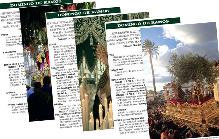 El Consejo de Hermandades de Utrera ofrece en Internet el «librito» no publicado de la Semana Santa