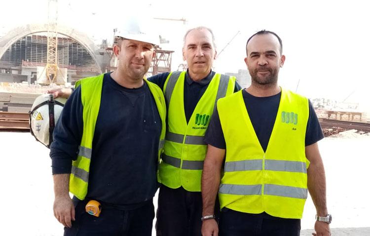 Tres trabajadores utreranos viven la pandemia del coronavirus desde Kuwait