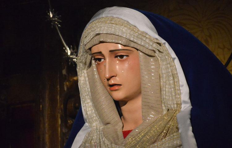 La hermandad de la Trinidad cancela los cultos a la Virgen de los Desamparados