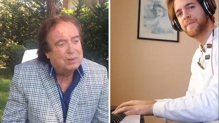 El utrerano Andrés Barrios, al piano junto a Dyango en una versión muy especial del clásico «Volverte a ver» (VÍDEO)