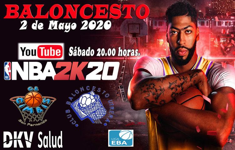 El Club Baloncesto Utrera celebra un torneo virtual de NBA2K20 frente al DKV San Fernando