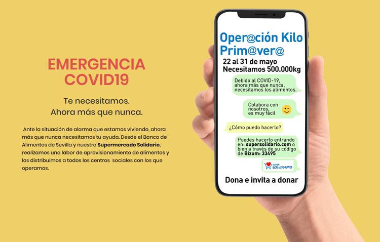 El Banco de Alimentos organiza su «Operación Kilo Primavera»