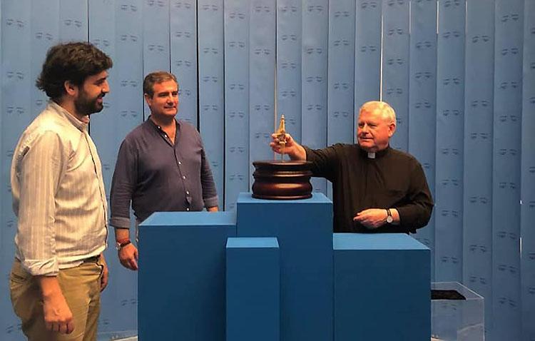 El barquito de la Virgen de Consolación, protagonista en la exposición del cincuentenario de la sevillana hermandad de la Sed