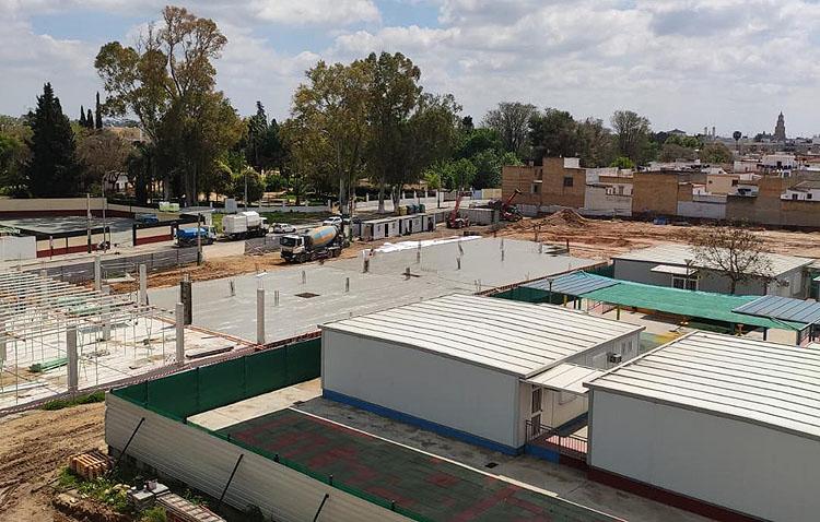 Utrera bonifica el ICIO a la empresa que construye el colegio de La Mulata a cambio de contratar a personas y proveedores locales