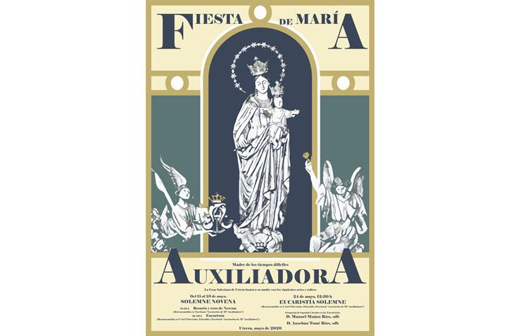 Los cultos de María Auxiliadora de Utrera cambian de hora y serán emitidos por televisión