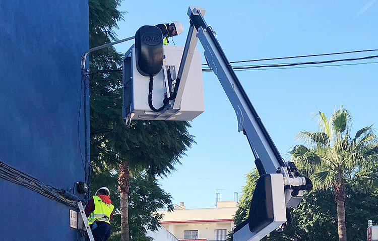 Utrera culminará la renovación de su iluminación pública a tecnología led gracias a una subvención de 1,6 millones de euros