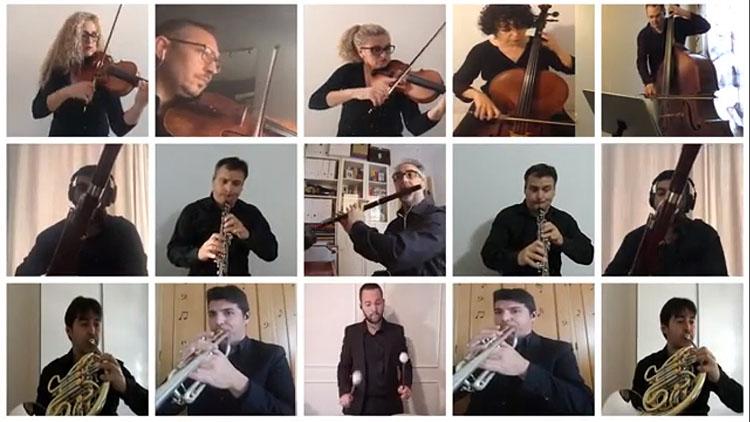 Una actuación virtual de la Orquesta Sinfónica de Utrera para conmemorar su segundo aniversario (VÍDEO)