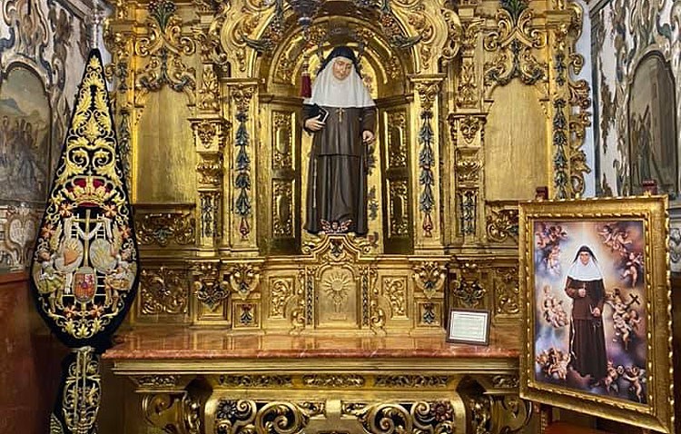 La hermandad de la Quinta Angustia celebra cultos en honor a Santa Ángela de la Cruz