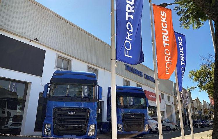 Ford Trucks desembarca en Andalucía a través del grupo utrerano Talleres Castejón