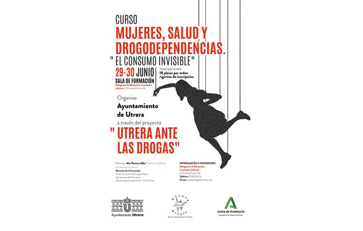 Un curso analizará en Utrera la relación de las mujeres con las drogas