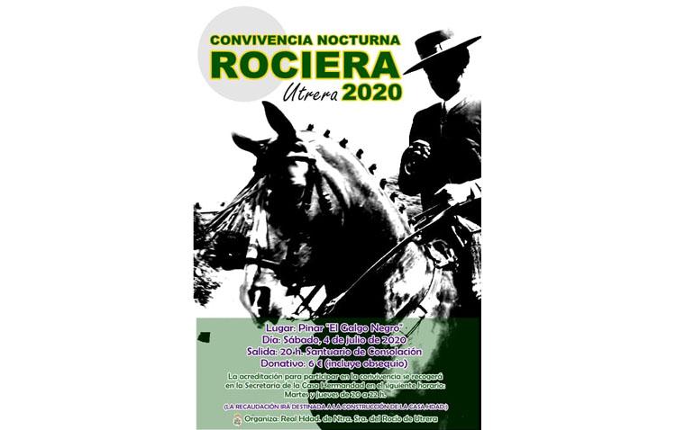 La hermandad del Rocío organiza una convivencia nocturna pro-construcción de su casa-hermandad