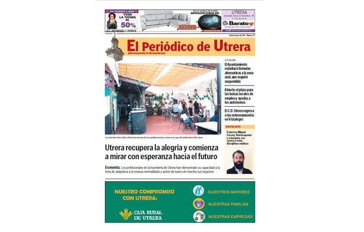 Una nueva y apasionante cita con la información de tu ciudad en el número 270 de «El Periódico de Utrera»