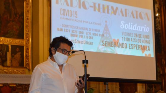 Un radiotelemaratón de 12 horas en Utrera recaudará dinero y alimentos para las familias más afectadas por la crisis del Covid-19