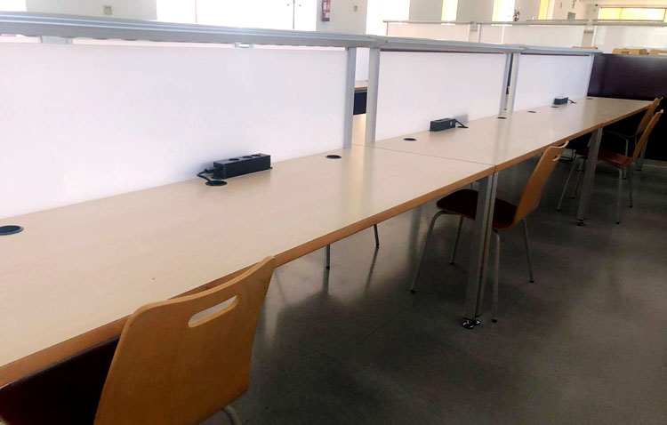 La sala de estudios de Olivareros reabre con cita previa y solo para uso de los utreranos