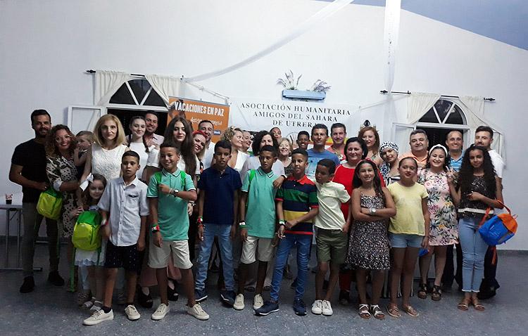 El verano más atípico para las familias de acogida de la asociación «Amigos del Sáhara» en Utrera