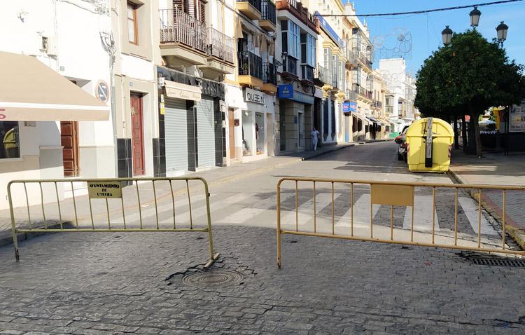 El Ayuntamiento anuncia reordenaciones y cortes de tráfico en el centro de Utrera