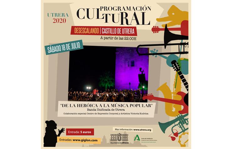 «De la heroica a la música popular», un espectáculo de música y danza en el castillo de Utrera
