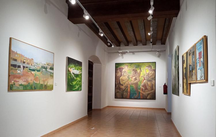 La exposición del 40º aniversario del certamen de arte contemporáneo de Utrera afronta sus últimos días