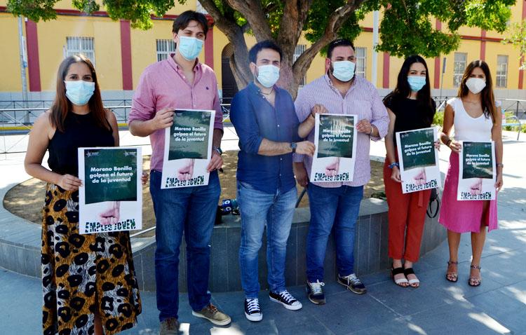 Juventudes Socialistas denuncian el «recorte» de 845.000 euros para los jóvenes de Utrera en el plan de empleo de la Junta
