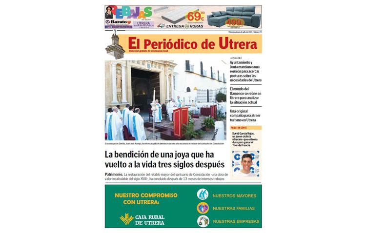 La bendición del retablo, el cierre de Casa Mascota y toda la actualidad de la ciudad, protagonistas de «El Periódico de Utrera»