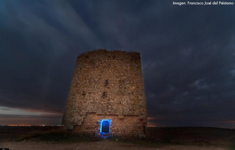 La espectacular visión de la Torre del Águila