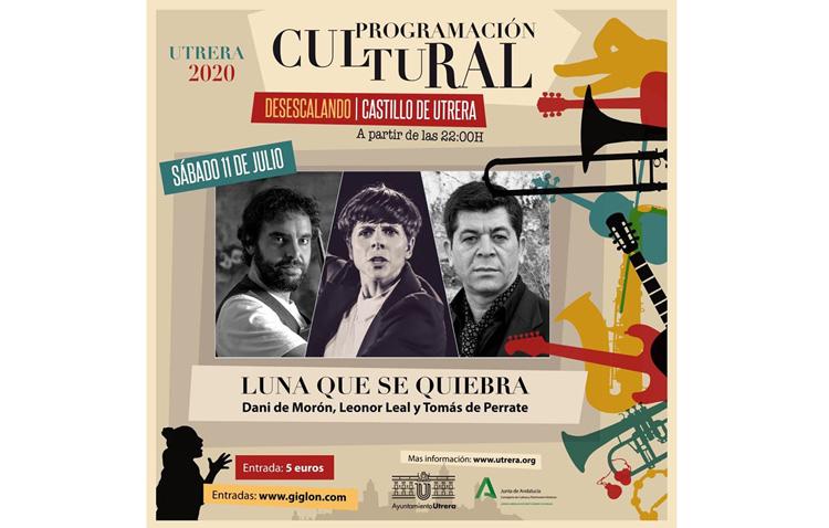 Noche de flamenco en el castillo de Utrera con Tomás de Perrate, Dani de Morón y Leonor Leal