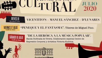 Música, danza y títeres para alcanzar el ecuador de julio en Utrera