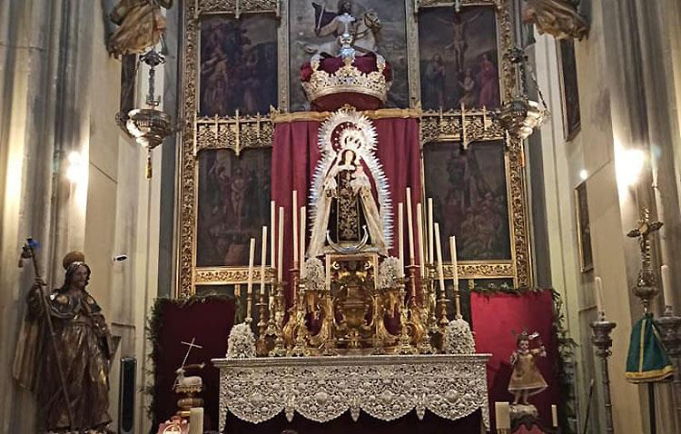 Las Madres Carmelitas, protagonistas de unos cultos inéditos en honor a la Virgen del Carmen