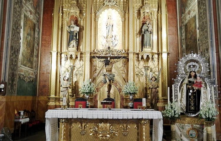 Los Salesianos celebran los cultos anuales en honor a la Virgen del Carmen