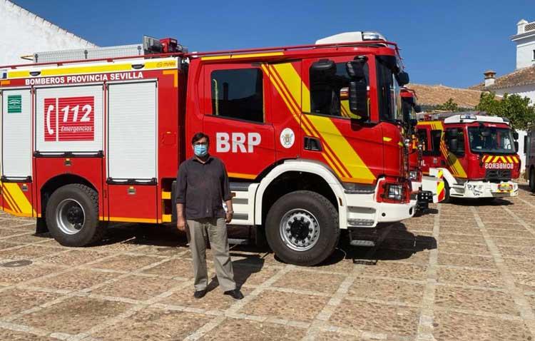 Así es el nuevo vehículo contra incendio y salvamento de los Bomberos de Utrera