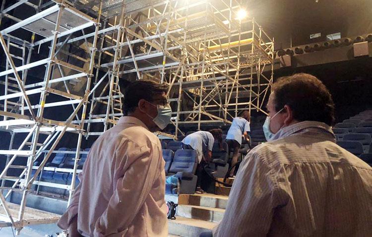 Avanzan los trabajos de acondicionamiento de los cines de Utrera para que abran sus puertas en otoño