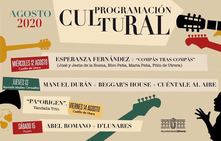 Una semana repleta de actuaciones musicales en Utrera