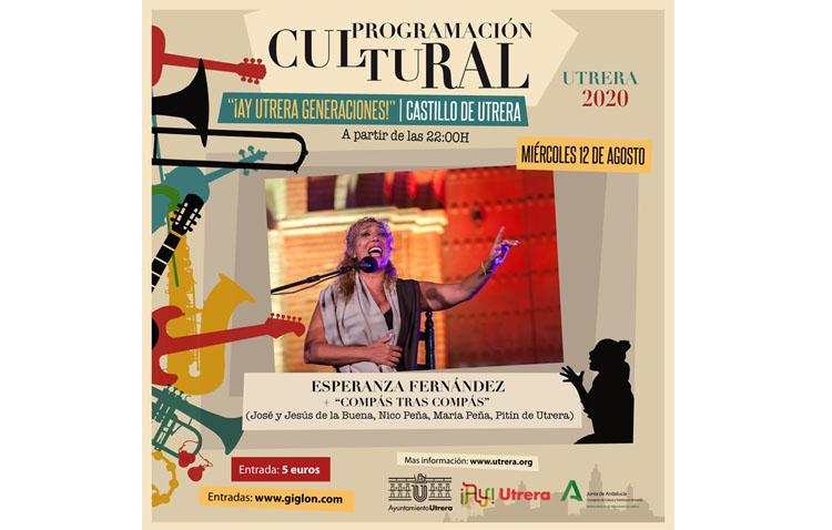 Esperanza Fernández y el flamenco de Utrera se dan cita en el castillo