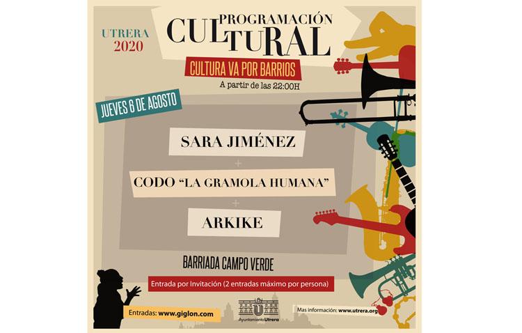 Una noche muy musical en la barriada Campoverde