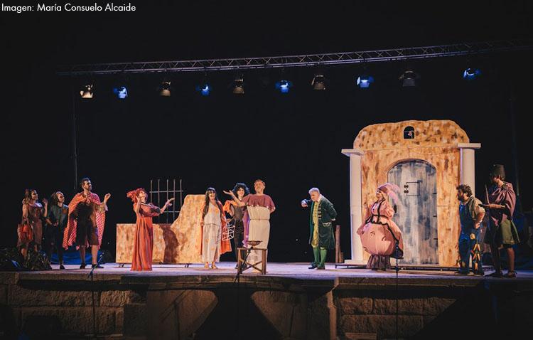 Guate Teatro triunfa en Badajoz con su exitoso «El sueño de Plauto»