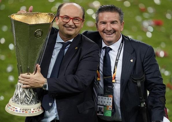 Pepe Castro conquista un nuevo título europeo con el Sevilla