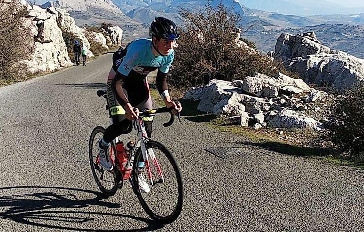 El ciclista utrerano David García Rojas participará en el campeonato de España junior