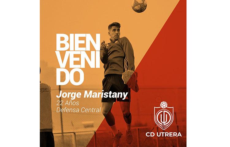 El Club Deportivo Utrera refuerza la zaga con el fichaje de Maristany