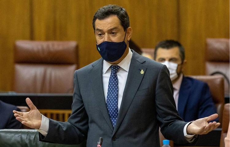 La Junta de Andalucía adoptará el martes medidas para luchar contra el virus en los municipios con «una incidencia rápida»