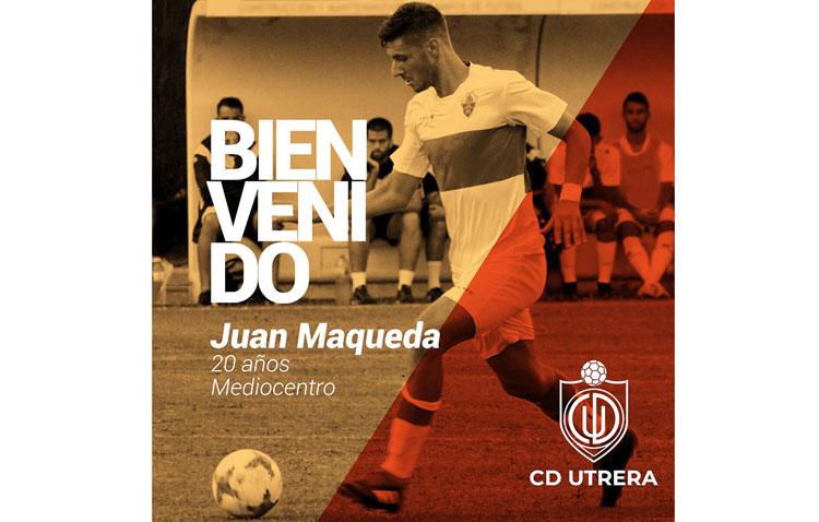 El utrerano Juan Antonio Maqueda, nuevo fichaje del C.D. Utrera