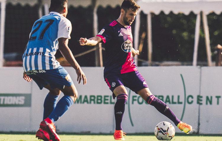 El futbolista utrerano Moi Delgado, cedido por el Valladolid al Fuenlabrada