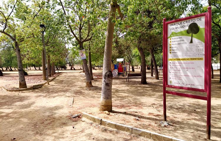 Un proyecto para darle una «nueva vida» al parque Cristo de los Afligidos