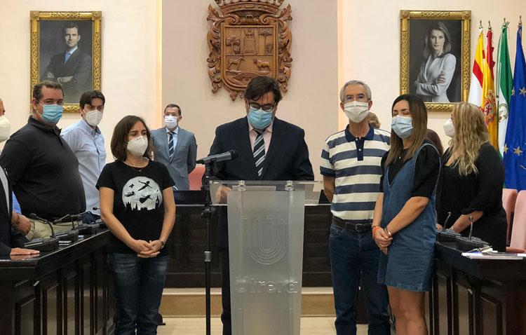 Llamamiento de todos los grupos políticos a la responsabilidad de los ciudadanos ante el «riesgo de confinamiento» en Utrera